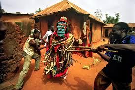 The Egungun masquerade