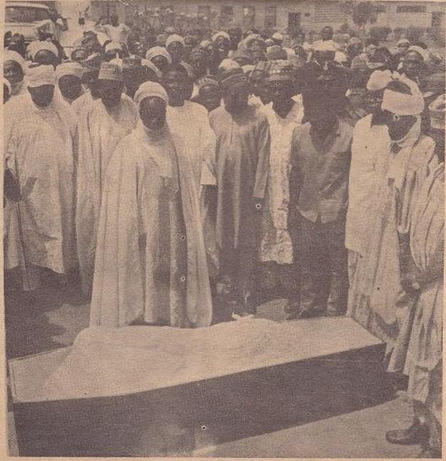 Murtala muhammed's burial