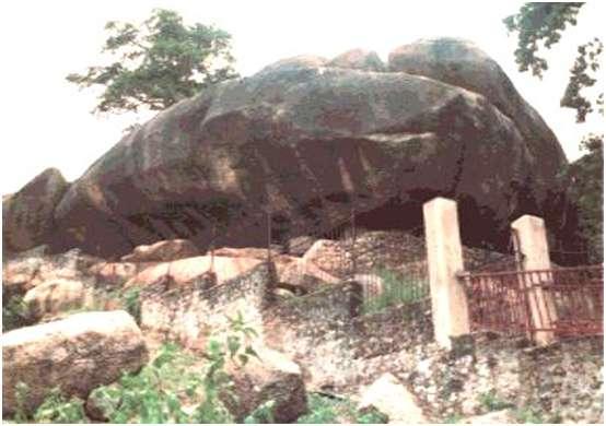 Olumo Rock In Abeokuta, Ogun State