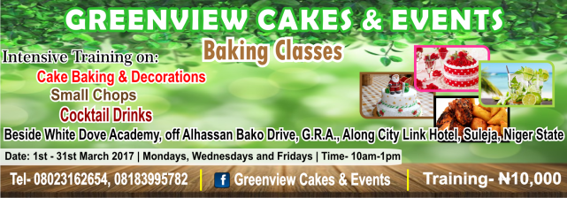 GreenView Cakes & Events