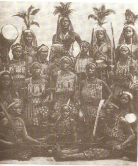 Dahomen Women Warriors