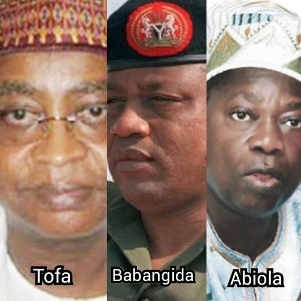 Image result for Babangida June 12 presidential election