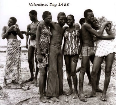 Valentine' Day in Nigeria in 1965