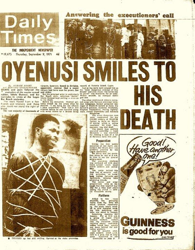 Ishola Oyenusi- Daily Times