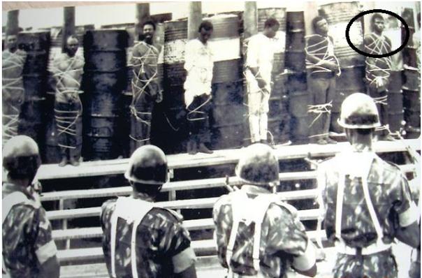 Ishola Oyenusi's execution