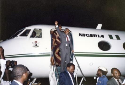 Nelson Mandela in Nigeria