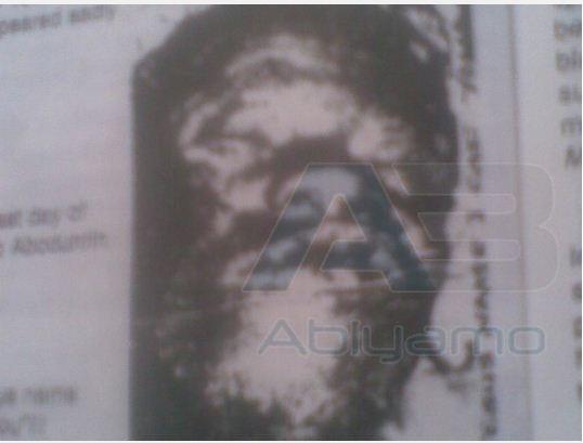 Prophet Daniel Abodurin's Corpse