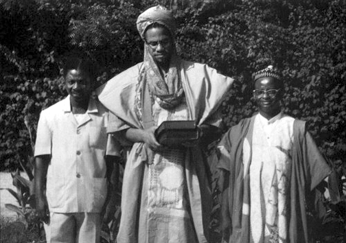 Malcolm X at the University of Ibadan, 1964