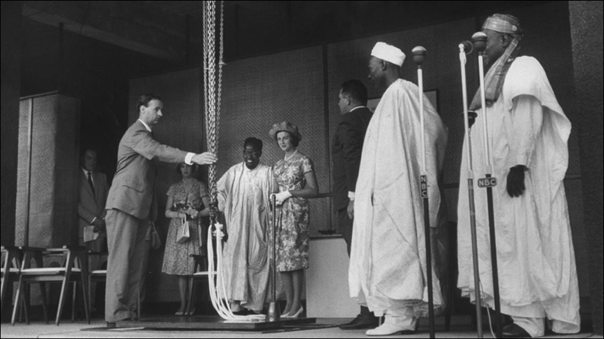 Tafawa Balewa and Princess Alexandra