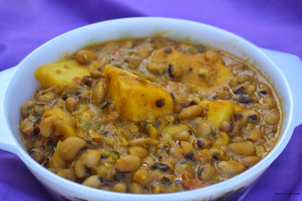 Yam and Beans