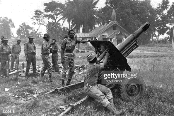 summary of the biafran war Source: national archives, rg 59, records of the special coordinator on relief to civilian victims of the nigerian civil war, february 1969 - june 1970, box 514, lot 70 d 336, political limited official use.