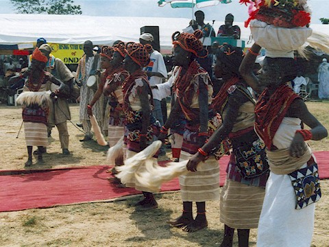 Obitun cultural dance of Ondo people
