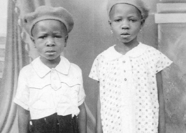 Wole Soyinka and sister, Tinu