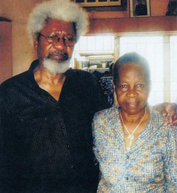 Wole Soyinka and sister