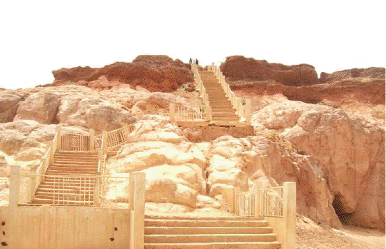 Dala hill stairway