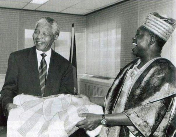 Mandela and Abiola