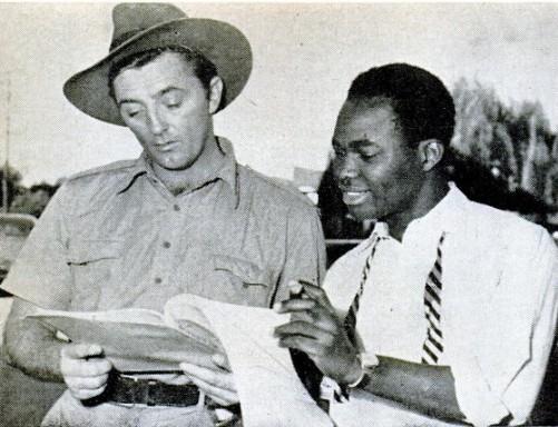 Alala and Robert Mitchum