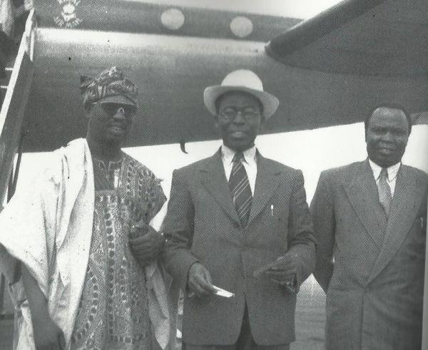 Bode Thomas, Obafemi Awolowo and Samuel Akintola