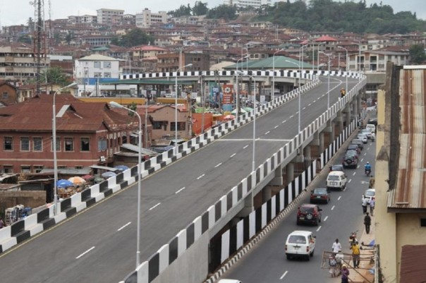 Mokola Bridge Ibadan Oyo state