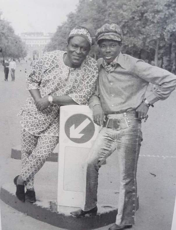Sunny Ade and Chief Abioro